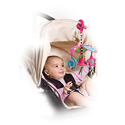 Tiny Love Pack and Go Mini car seat toy baby