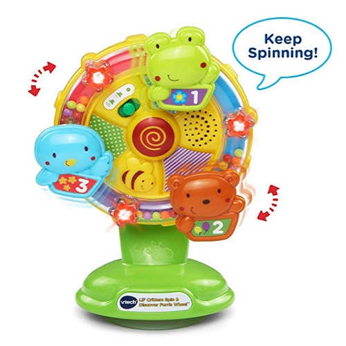 8 Month Old Toys VTech LilCritters Spin and Discover Talk