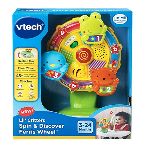 8 Month Old Toys VTech LilCritters Spin and Discover Box
