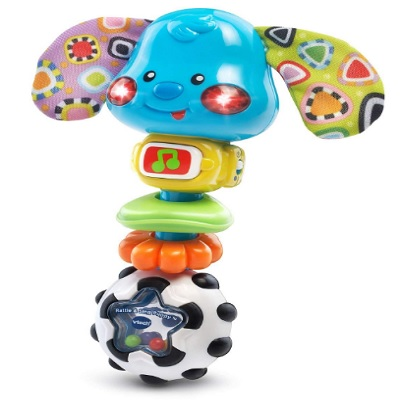 VTech Baby Rattle and Sing Puppy Side