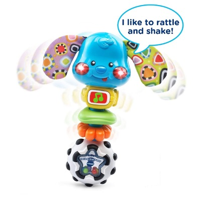 VTech Baby Rattle and Sing Puppy Talk