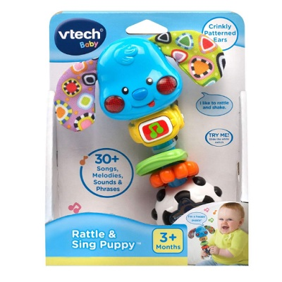 VTech Baby Rattle Sing Puppy Packaging