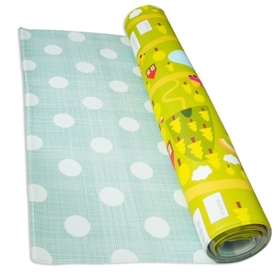 baby care country town baby playmat rolled