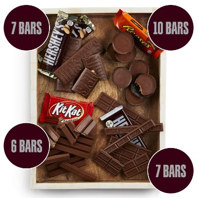 Hershey's Chocolate Bar types
