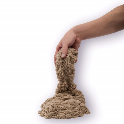 kinetic sand squeezable play sand adhd toy how it looks