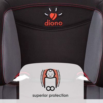 diono cambria high back booster seat superior protection