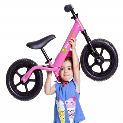 the croco ultra-light balance bike lightweight
