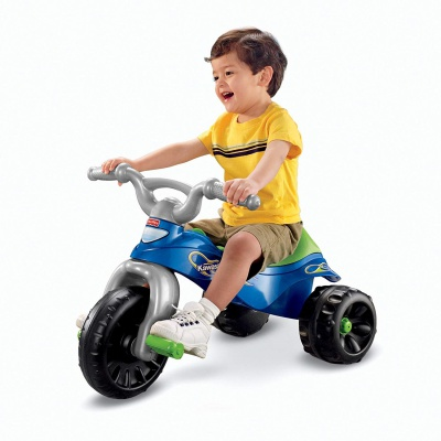 fisher-price kawasaki tough trike big wheels for kids kid riding