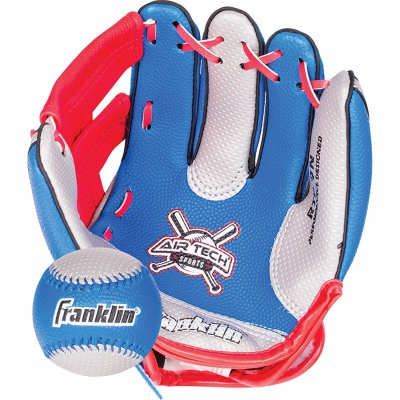 franklin sports air tech foam kids baseball gloves pattern