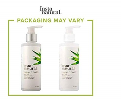 instanatural vitamin c face wash for teens package