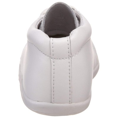stride rite baby walking shoe back