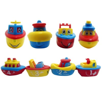 3 bees & me bath water toys for kids pieces