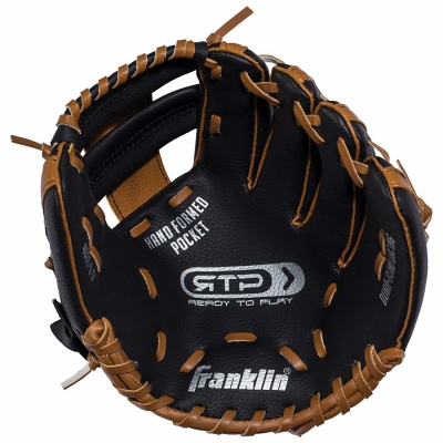 franklin sports teeball performance set kids baseball gloves inside