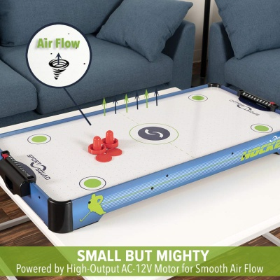sport squad electric powered air hockey table air flow