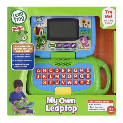 LeapFrog My Own Leaptop toys for gifted toddlers