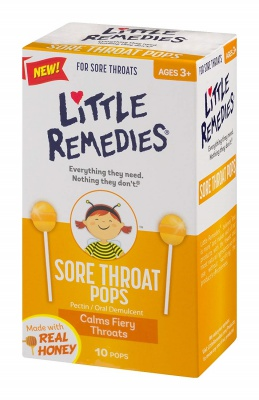 Little Remedies Sore Throat Pops