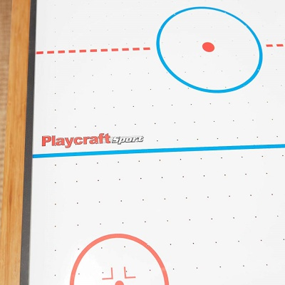 playcraft sport 40 inch air hockey table close up