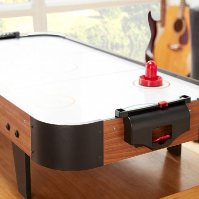 playcraft sport 40 inch air hockey table angle