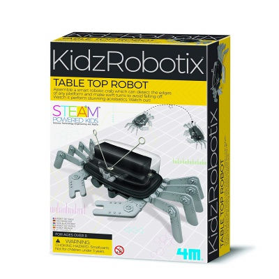 4M table top robot toys for 8 year old boys box