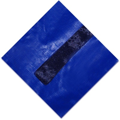 Blue Wave Gold Cover Folded 18 Feet