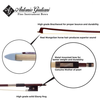 Bunnel Pupil Clearance Violin Bow