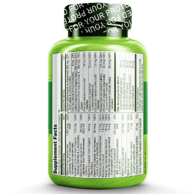 Naturelo PostNatal Vitamins Back Label