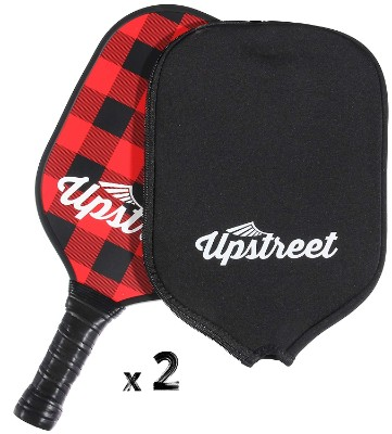 upstreet pickleball paddles outdoor game red