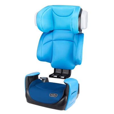 evenflo spectrum 2-in-1 high back booster seat ergonomic