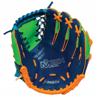 teeball left hand kids baseball gloves inside look