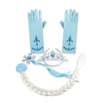 frozen halloween costume for kids gloves