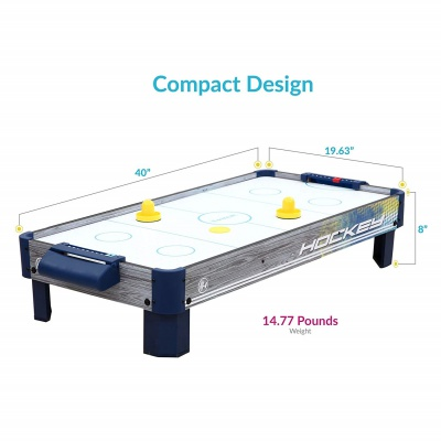 harvil table top air hockey table dimensions