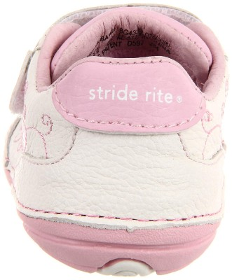 stride rite bambi baby walking shoes soft