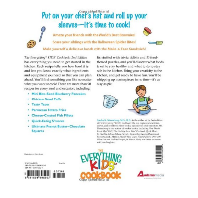 the everything kids cookbook for kids page