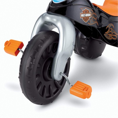 harley-davidson tough trike big wheels for kids tire