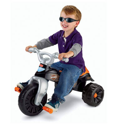 harley-davidson tough trike big wheels for kids kid riding