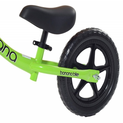 banana lightweight balance bike seat