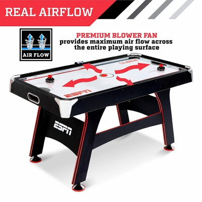 ESPN game table air hockey table airflow