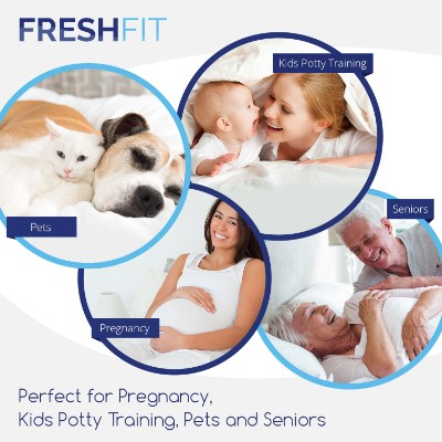 freshfit hypoallergenic mattress protector for kids features