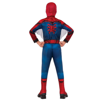 spider-man halloween costume for kids back