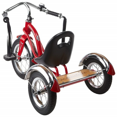 schwinn roadster 12-inch trike big wheels for kids back