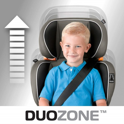 chicco KidFit 2-in-1 high back booster seat duozone