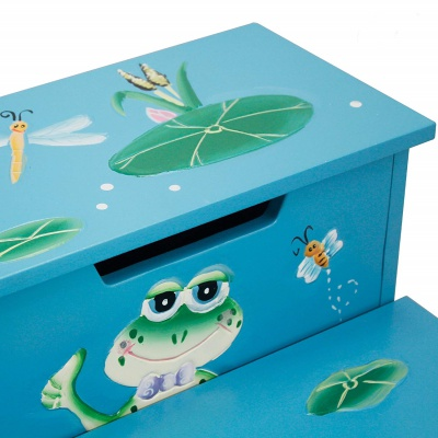 fantasy fields froggy step stool hand craft