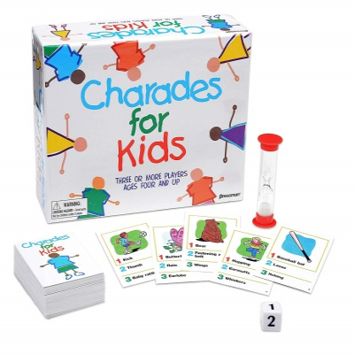 Charades for Kids Game Set