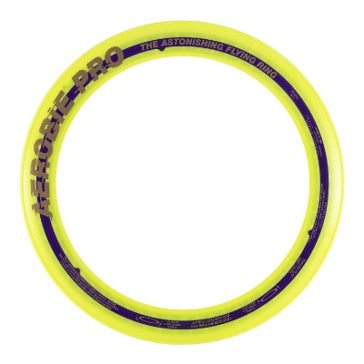 aerobie pro ring flying toy yellow