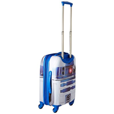 star wars gard side spinner kids luggage set side look