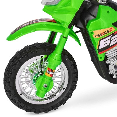 electric kids ride on electric dirt bike for kids tire