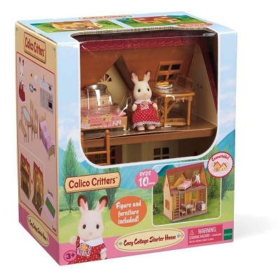 calico critters cozy cottage dollhouse box
