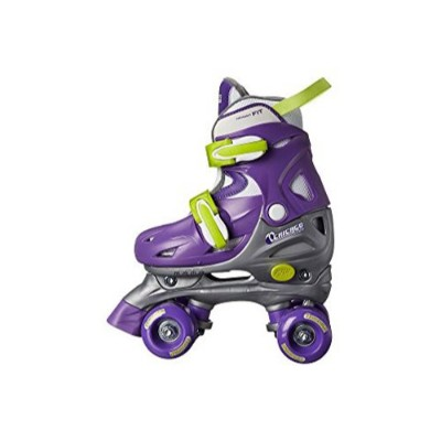 chicago adjustable quad roller skates for kids side view