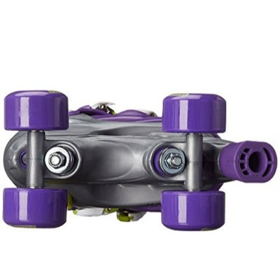 chicago adjustable quad roller skates for kids purple