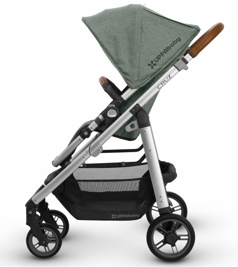 The UPPAbaby Cruz provides babies and parents a smooth ride.